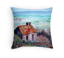 Studying Contrast Throw Pillow