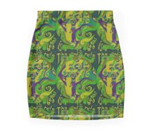 Backwards Down the Number Line - Design 2 Mini Skirt