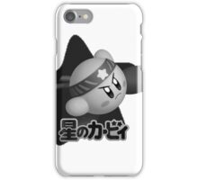 Fighter Kirby  iPhone Case/Skin