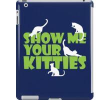 Show me your kitties iPad Case/Skin