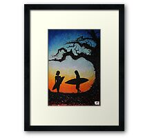 Ash Saturday Framed Print