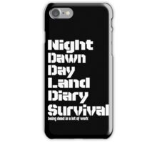 Being Dead iPhone Case/Skin