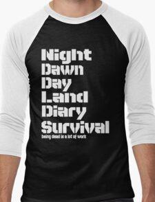 Being Dead Men's Baseball ¾ T-Shirt