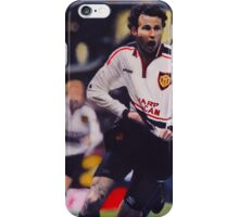 Giggs goal v Arsenal Oil on Canvas iPhone Case/Skin