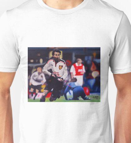 Giggs goal v Arsenal Oil on Canvas Unisex T-Shirt