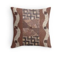 River twins Throw Pillow