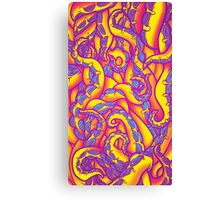 Tropical Punch Tentacles Canvas Print