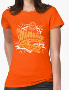Cool Moments Pop Art Womens Fitted T-Shirt