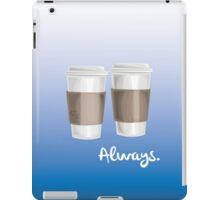ALWAYS - a Castle celebration (with coffee) iPad Case/Skin