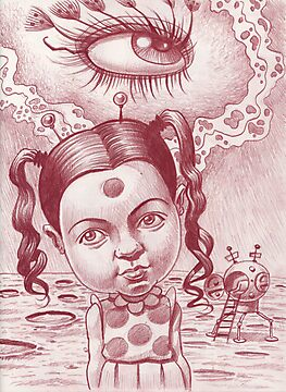 Little Patricia's third eye blind by Mike Cressy