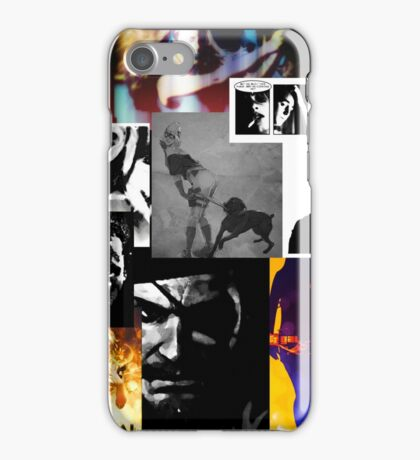 Bullet Gal: Collage iPhone Case/Skin