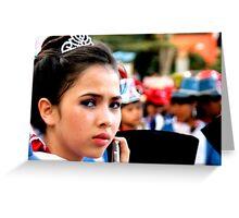 Band Leader, Ubud, Bali Greeting Card