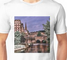 Victoria Art Gallery and Palladian Pulteney Bridge  Unisex T-Shirt