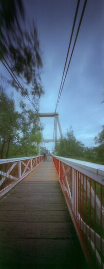 Lynches Bridge - Yarra River by ShaneBooth