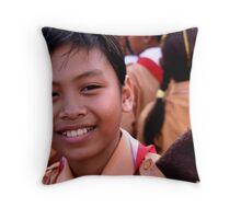 Ubud Boy Throw Pillow