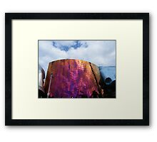 The Experience Music Project building in Seattle, Washington Framed Print