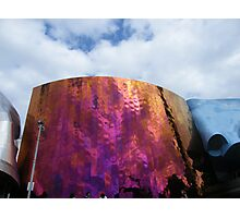 The Experience Music Project building in Seattle, Washington Photographic Print