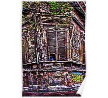 The Old Corner Building Fine Art Print Poster