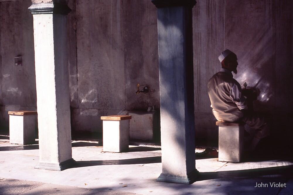 Sitting  by John Violet