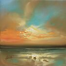 Soft Sky Study by scottnaismith