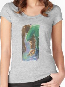 Don't Wander Off Full Women's Fitted Scoop T-Shirt