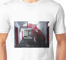 Red Stairs Climb Unisex T-Shirt