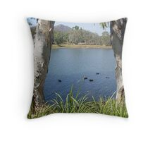 Upper Ross 3 Throw Pillow