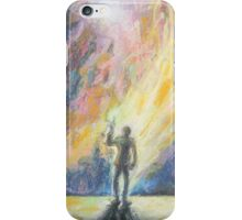 Like Fire and Ice and Rage Sticker iPhone Case/Skin