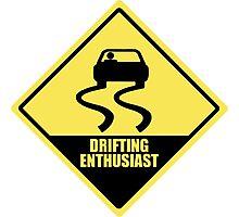 Drifting enthusiast Photographic Print