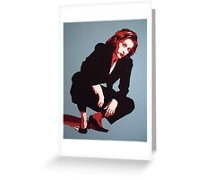 Dana Scully Greeting Card