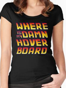 Hoverboards Anonymous Women's Fitted Scoop T-Shirt