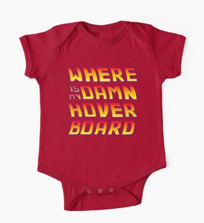 Hoverboards Anonymous One Piece - Short Sleeve