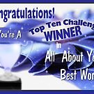 Congratulations Top 10 Banner by TLCGraphics