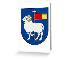 Gotland Coat of Arms  Greeting Card