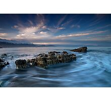 Recoiled Drift Photographic Print