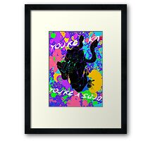 You're a Kid Framed Print