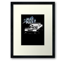 Mad Max Interceptor Framed Print