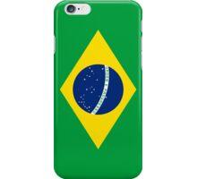 Flag of Brazil Vertical iPhone Case/Skin