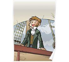 Darwin Comic Cover Poster