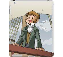 Darwin Comic Cover iPad Case/Skin