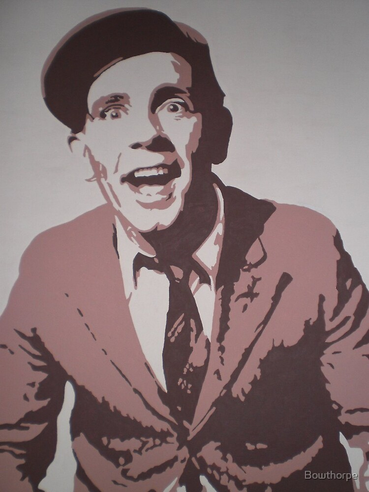 Norman Wisdom by Bowthorpe