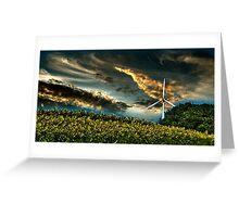 Sunfllower field II Greeting Card