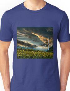 Sunfllower field II Unisex T-Shirt