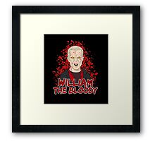 William the Bloody Framed Print