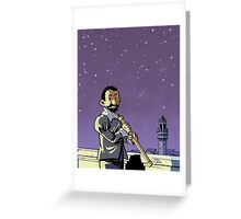 Galileo Comic Cover Greeting Card