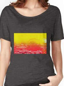 SUNS & RED SEA Women's Relaxed Fit T-Shirt