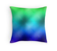 Cool Grid Throw Pillow
