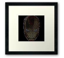 Genius. Billionaire. Playboy. Philanthropist. Framed Print