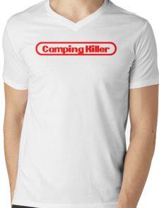 Camping Killer Mens V-Neck T-Shirt