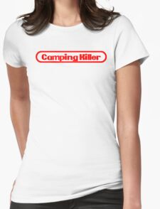 Camping Killer Womens Fitted T-Shirt